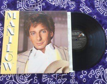 "Barry Manilow - ""Manilow"" Vinyl LP, Record Album, Original 1985"