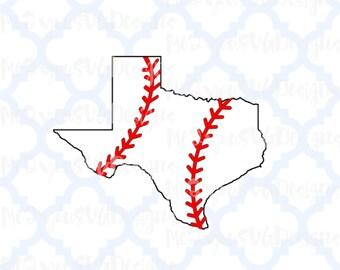 Texas Baseball SVG,EPS,PNG,Studio
