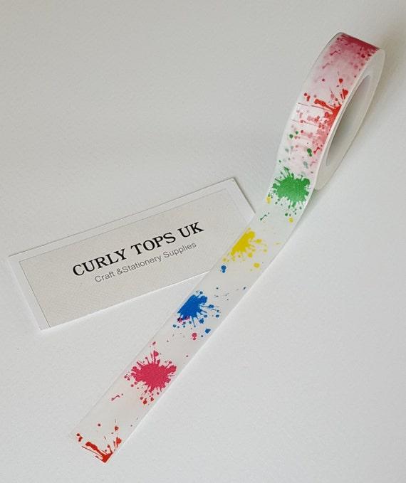 Pintar cinta de washi splash niños washi tape washi por CurlyTopsUK