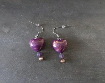 Earrings stainless steel