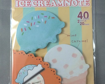 Ice Cream Sticky Note Pad