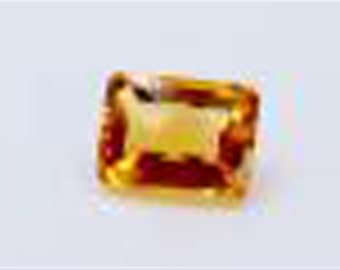Dignity 7.35  Ct & Up  Citrine Emerald  14X10Mm