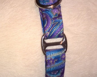3/4 inch Martingale Collar (Available in your choice of fabric)