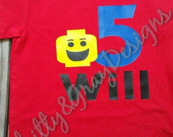 Lego Birthday Tshirt!