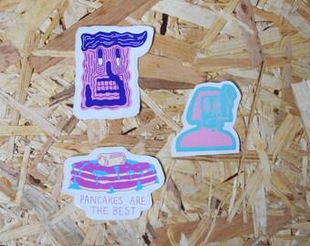 Badge packs & sticker packs