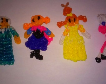 Rubber Band Loom Characters