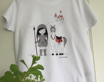 Cotton girl t-shirt