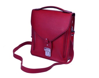 Leather Purse Red