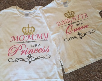 Mother/Daughter Royalty Shirts