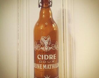 French Cider Bottle