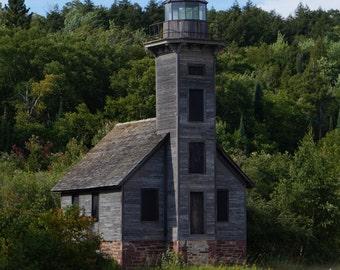 old lighthouse, Munising, MI.