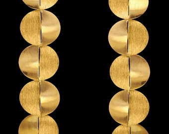 Gold Plated Earring Algodão
