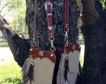 Chap purse,chap,tooled leather,purses