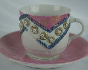 Great old made in Germany cup / saucer set ca. 1930s
