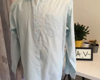 Mint Green Hugo Boss Shirt