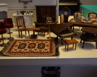 Assorted Miniature Dollhouse Furniture