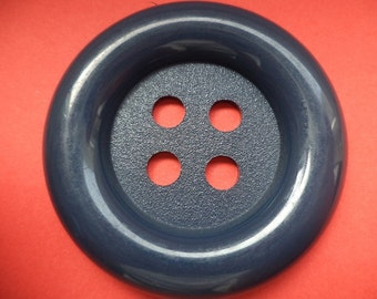 big button 50mm dark blue (246) buttons coat buttons blue 5 cm