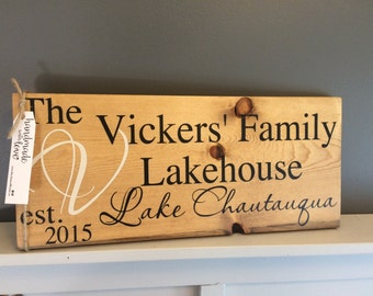 Outdoor Cottage Sign, cottage sign, lakehouse sign, camp sign, cottage sign, outdoor sign, rustic camp sign, rustic cottage sign,