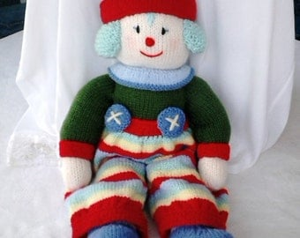 Hand Knitted Clown