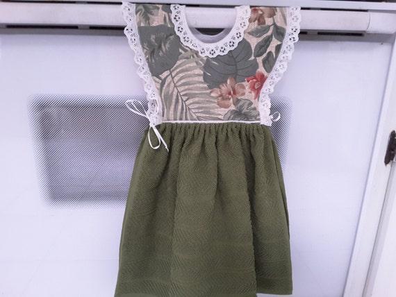 Hanging kitchen towel dress style H1