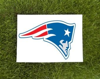 Patriots-Team Logo-Vinyl Car Decal-Football-Coffee Mug-Mac Book-Sticker