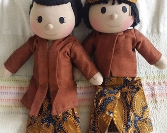 Cute Traditional Couple - Bagus and Rahayu
