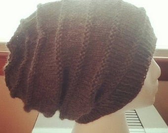 Honeycomb Wool Beanie