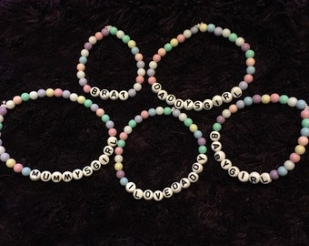 DDLG Bracelets  Perfect for Littles of all kinds!