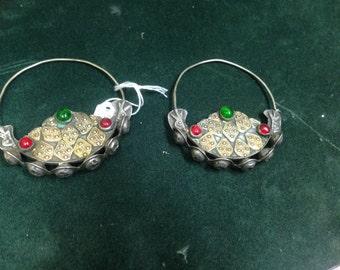 Antique Nepalese Earrings