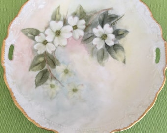 Antique Hand painted Mary Edwards plate
