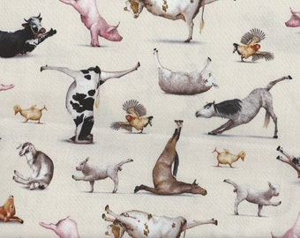 Yoga Animals on natural Elizabeth Studio