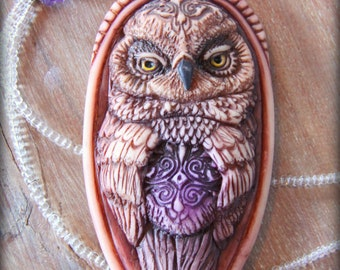 Personal power animal charm OWL