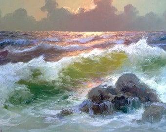 Painting seascape m. Rinaldi