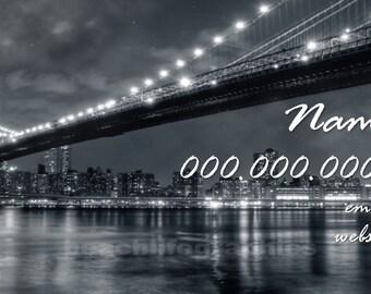 NY NY Business Card