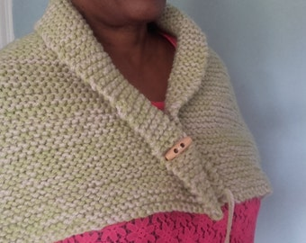neck scarf ,knitted