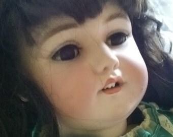 Bisque doll porcelain doll