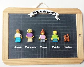 Lego Family - Portrait custom family - mother - mother