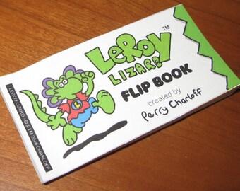 LeRoy Lizard Flip Book