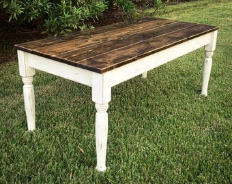 46.5 in Kids Farmhouse Table/Coffee Table
