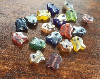 Lot of Glass Fish Beads