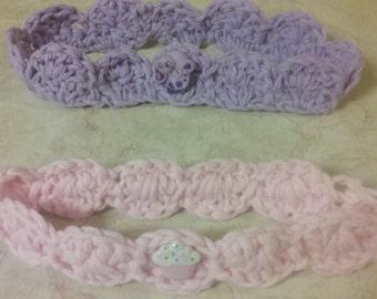 baby girl cotton headband
