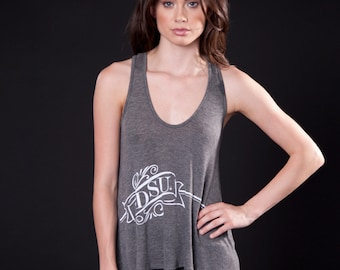 Cut-Out Racerback Tank (T120101G-BANNER)