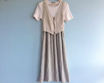 Vintage Knit Dress Size 14 by Stuart Alan