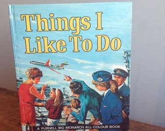 Vintage Children's Book—Things I Like to Do by Derek Lord