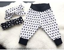 Cross Baby/Toddler Modern/Urban Cuff Cotton Pant.