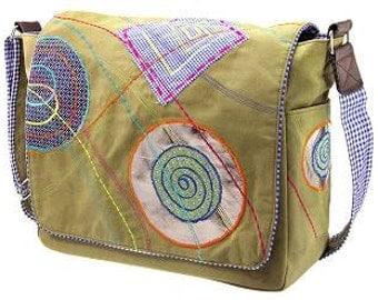 """Canvas shoulder bag """"Harlem"""""""