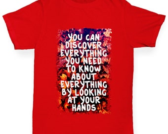 Boy's You Can Discover Everything T-Shirt