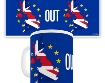 Brexit Out Ceramic Mug