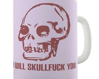 Anarchist Skull Ceramic Mug