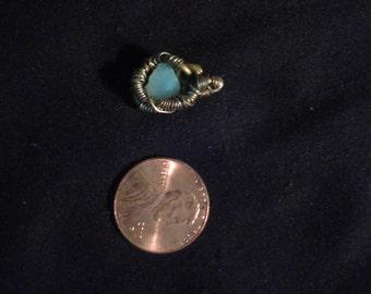Small Oregon Fire Opal Pendant
